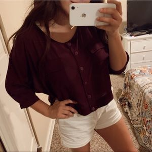 Forever 21 plum top